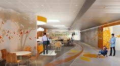 nationwide children's hospital interior design   ...   Celebrating Nationwide Children's Hospital   Big Red Rooster