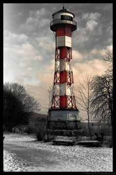 Leuchtturm Wittenbergen by Moritz Königsbüscher, via 500px