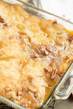 Peach Pecan CobblerReally nice recipes. Every hour.Show me what  Mein Blog: Alles rund um Genuss & Geschmack  Kochen Backen Braten Vorspeisen Mains & Desserts!