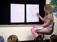 Teacher modeling the use of Number Talks to help develop numerical reasoning and strategy development. Number Talks Kindergarten, Teaching Numbers, Math Numbers, Kindergarten Math, Teaching Math, Teaching Spanish, Math Teacher, Fun Math, Math Activities