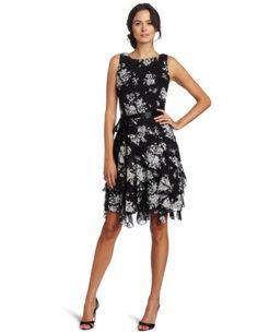 Jessica Howard Women's Cascade Ruffle Dress « Clothing Impulse
