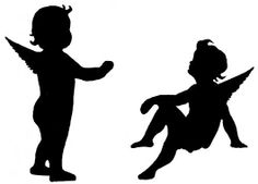Bildergebnis für silhouette baby