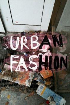 Urban fashion... Youthful individual creativity...