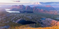 baosbheinn - Shot in the Western Ross area of North West Scotland looking off…