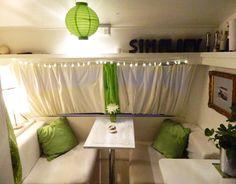 White & Green - Enthused Monkey: Inside the Caravan - Part Two