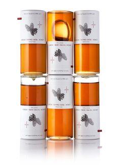 "Tear-Off Honey Packaging : ""honey design"""