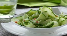 Cucumber diet is 1 week and consuming only cucumber in your daily diet. Diet is based on cucumber you can eat one whenever you feel hungry. Cucumber is green Salad Recipes, Diet Recipes, Healthy Recipes, Japanese Cucumber Salad, Healthy Life, Healthy Living, Summer Recipes, Meals, Cooking