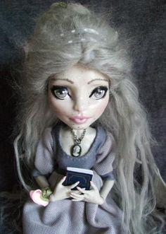 Monster High Custom Gargoyle 'Regency Era Lady' Caroline OOAK Rochelle   eBay