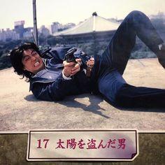 昨日はフォロワー氏に誘われ神保町シアターの「七〇年代の憂鬱─退廃と情熱の映画」で『太陽を盗んだ男』(1979)を。 確か3年前にも観てるんだけど、さりげなく張られた構図のリンク、意外と変わってない新宿や渋谷の風景、ゲリラ撮影が当たり前故のリアルさ、脂乗りまくりの井上堯之のサントラ(『ヱヴァ:破...
