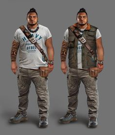 View an image titled 'Jonah Maiava Art' in our Shadow of the Tomb Raider art gallery featuring official character designs, concept art, and promo pictures. Female Character Design, Character Concept, Character Art, Concept Art, Cthulhu, Apocalypse Character, Apocalypse Art, Modern Magic, Big Men Fashion