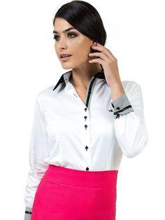 0536c9214d 24 melhores imagens de Camisa Social Feminina Lisa