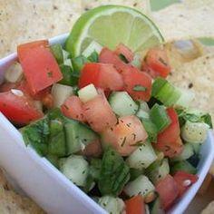 Cool Cucumber Salsa Allrecipes.com