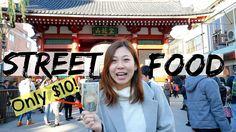 $10 Japanese Street Food Adventure In Asakusa: Tokyo Street Food Guide | Asakusa Japan Travel Guide - YouTube