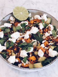 Simply Recipes, Clean Recipes, Feta, Yummy Food, Tasty, Food N, Lchf, Cobb Salad, Nom Nom