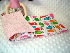 Sewing idea! Burpies for children to use for their baby dolls.