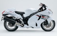 Suzuki - Way of Life! Hyabusa Motorcycle, Suzuki Motorcycle, Motorcycle News, New Motorcycles, White Motorcycle, Motorcycle Types, Suzuki Hayabusa, Atv Shop, Motorcycle Companies