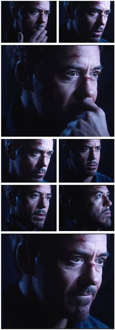 "Robert Downey Jr. as Tony Stark, ""Iron Man 3"" (lovely pictures)."