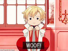 haruhixtamaki   anime cute dog kawaii cute anime haruhi tamaki woof ouran highschool ...