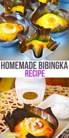 Bibingka Recipe ( Homemade ) - Recipe Ni Juan - Joanna Alvarado - Bibingka Recipe ( Homemade ) - Recipe Ni Juan However, with this Homemade Bibingka Recipe, you will never have to wait for Christmas season to come again to enjoy this very Filipino dish. Pinoy Dessert, Filipino Desserts, Asian Desserts, Filipino Food, Filipino Torta, Easy Filipino Recipes, Cuban Recipes, Filipino Christmas Recipes, Christmas Desserts
