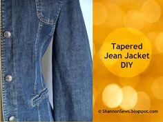 Taper a Jean or Lightweight Jacket: DIY
