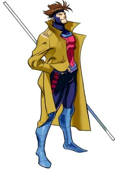 Gambit of The X-men. Always been one of my favorite mutants and I'd love to attempt this which is only reason trying to ditch my spare tire. I also need to figure out how to make any part of it. This is also the only reason I learned to fit contacts because I want to do his eyes justice.