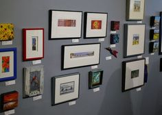 Miniature Art Show at Portside Gallery, Port Stanley