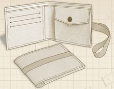 Pin for later...1938310This free wallet pattern is very easy to sew and it's for an unisex wallet. This wallet Is an ideal gift for your husband or for…