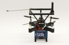 Researchers turn a swarm of drones into a physical hologram