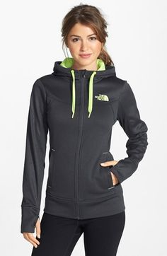 Free shipping and returns on The North Face 'Suprema' Hoodie at Nordstrom.com. Warm up and cool down in a slim, athletic-cut hooded sweatshirt lined with supersoft brushed fleece. An embossed pattern gridding the sleeves, yoke and hood lends light-catching dimension.