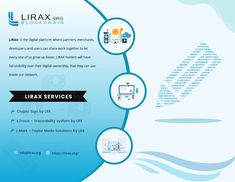 With the help of lirax, you can easily share your products and services to thousands of clients all over the world. You can also create new human and business relationships. chain id
