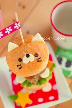 Cat hamburger