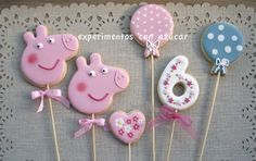 Experiments with sugar: cookies and sweets Centers