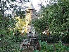 Le château de Taussac : vue extérieure