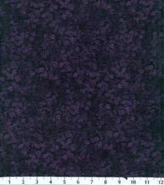 Premium Quilting Fabric Small Floral Plum
