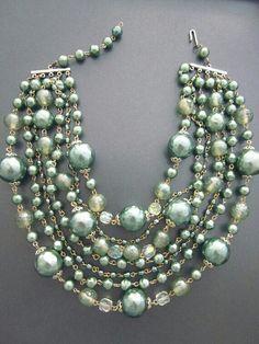Celadon...Gorgeous Green!  Necklace.
