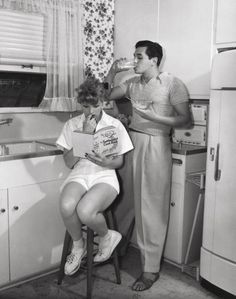 Newlyweds Lucille Ball and Desi Arnaz, 💕 I love Lucy