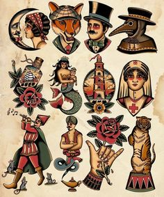 adaga tattoo oldschool The fox! Also t - oldschool Ink Tattoo, Tattoo Flash Art, Body Art Tattoos, Sleeve Tattoos, Hand Tattoos, Flash Tattoos, Traditional Tattoo Old School, Traditional Tattoo Design, Traditional Tattoo Flash