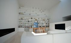 Japanese architectural firm Shinichi Ogawa & Associates has created the Library House in Tochigi, Japan.