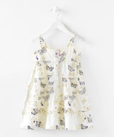 #Zulily #FallTake a look at this Crinoline Butterfly Dress - Infant & Girls by Blow-Out on #zulily today!
