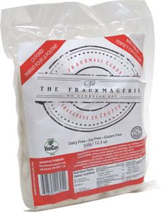 Vegan Mozzarella Cheese Curds by The Frauxmagerie Mozzerella, Vegan Mozzarella, Vegan Poutine, Fromage Vegan, Cheese Curds, Vegan Products, Trans Fat, Nutritional Yeast