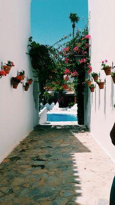 "Summer adventures in Spain. ""La Alcazaba"", Calabardina, Spain."