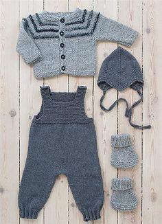 Baby onesie + sweater More info: Ravelry