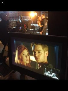 . Clary and Jace (Kat McNamara and Dom Sherwood) #Shadowhunters