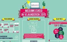 Infographic Mediawijsheid in Vlaanderen 2015 | Mediawijs