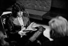 Jim Morrison, always thinking and reading. Ray Manzarek, The Doors Jim Morrison, Elevator Music, Tortured Soul, Wild Love, Debbie Gibson, I Can Do Anything, American Poets, Blues Rock
