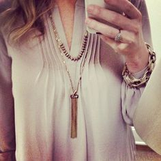 This #maxxinista found the perfect tassel necklace.