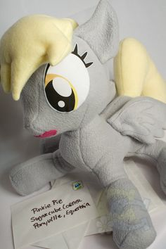 She is PERFECT! I want one!  Derpy Hooves - My Little Pony: Friendship Is Magic
