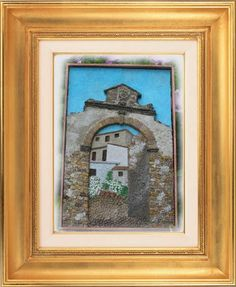 Hobbies-land: tegole artistiche, pirografie e altro: Porta aragonese