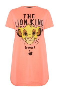 Primark - Coral Lion King Nightshirt