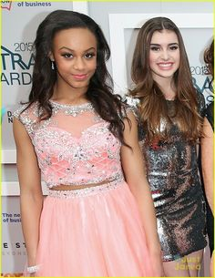 Nia and Kalani in Sydney Australia at the Astra Awards 2015